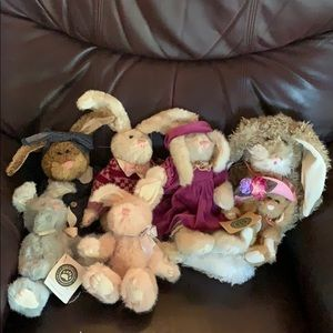 The Boyds Collection Other - Boyd's plush bunnies..lot/7